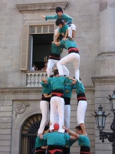 ( Castellers en La Merce 2007 / flckrcc.net )